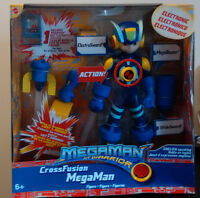 "New in Box - Mega Man NT Warrior Cross Fusion 10"" Action Figure"