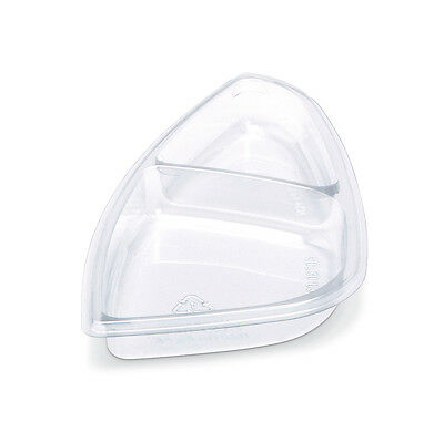 Placon Fs1-t2 Clear 9 Fresh-n-clear Selectables Clear Center Insert With 2 C
