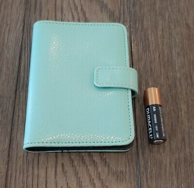 Franklin Covey 365 Pocket Compact Binder Organizer Planner 4.75x3.5 Turquoise
