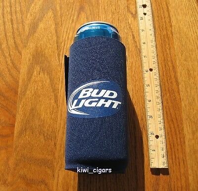 (2) Bud Light 25oz Beer Coolie Koozie Budweiser Coors Miller Lite 24oz *New*