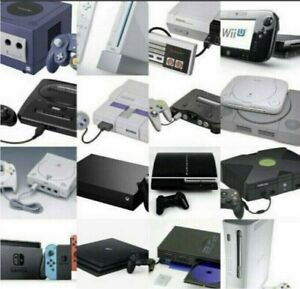 Wanted: Nintendo, SEGA, PlayStation and Xbox Video Games and Consoles