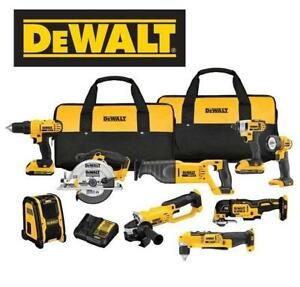 NEW* DEWALT 9-TOOL COMBO KIT DCK940D2 225936373 20 Volt Max Lithium Ion Cordless Combo Kit (9 Tool)