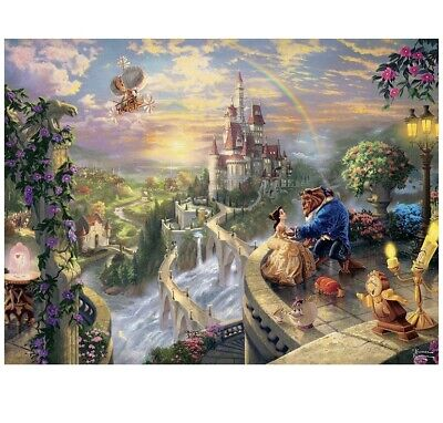 Ceaco Perfect Piece Puzzle Thomas Kinkade Disney Dreams Beauty And The Beast