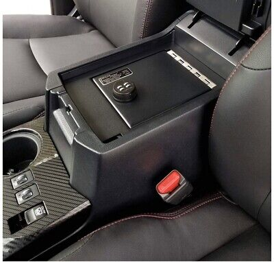 Lock'er Down Console Safe w/4 Digit Combo for 2014 1500 Series Sierra &Silverado