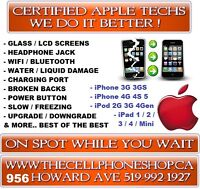 IPHONE 4G 4S GLASS LCD DIGI REPAIR INSTALLED IN 15 MIN $59