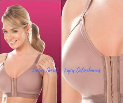 After Surgery Bra - FAJAS COLOMBIANAS DPRADA SURGICAL BRA AFTER BREAST REDUCTION SURGERY ENFAJATE