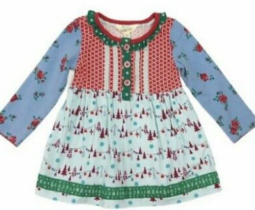 New MATILDA JANE Girl Lets go together Hit the slopes tunic top size 12-18 month