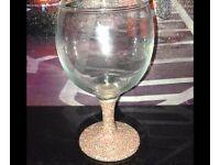 Small wine glasses