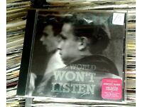 The Smiths ‎– The World Won't Listen, VG, CD, RM, released on WEA ‎in 2011, Cat No 2564660484.