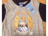 Job Lot Of Manchester City Short Pyjamas MCFC Bundle Market Bargain aged 3/4 Bargain