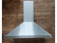 CDA Kitchen Cooker Hood Extractor 60cm - Stainless Steel - Great Condition