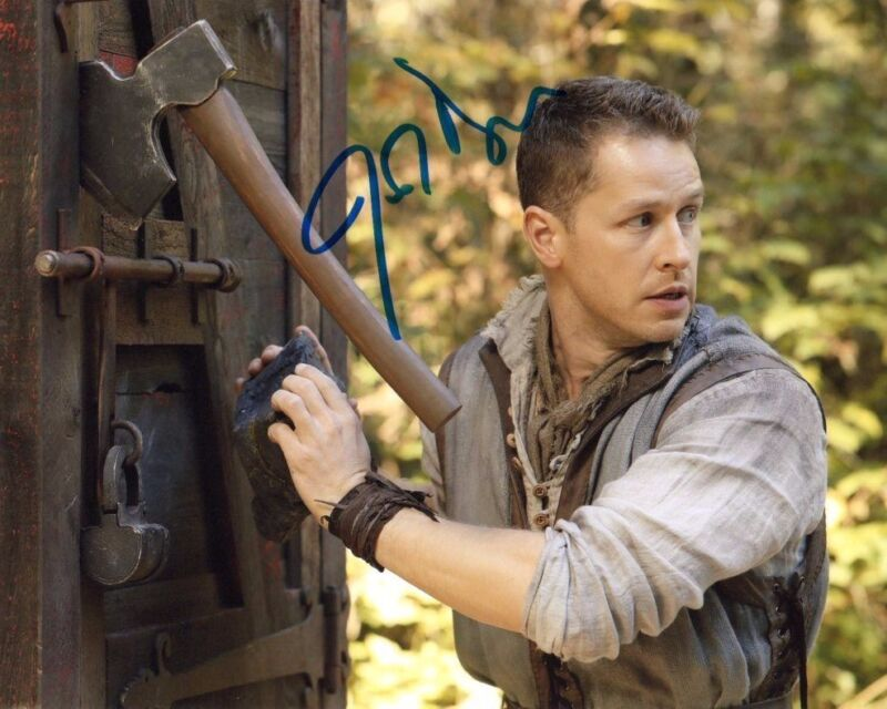 Josh Dallas Once Upon A Time Autographed Signed 8x10 Photo COA #2