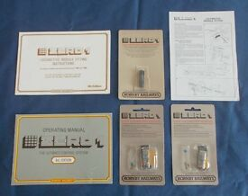 Hornby OO Dublo 00 vintage items collection. Includes 2 x Hornby Zero 1 modules never opened NOS