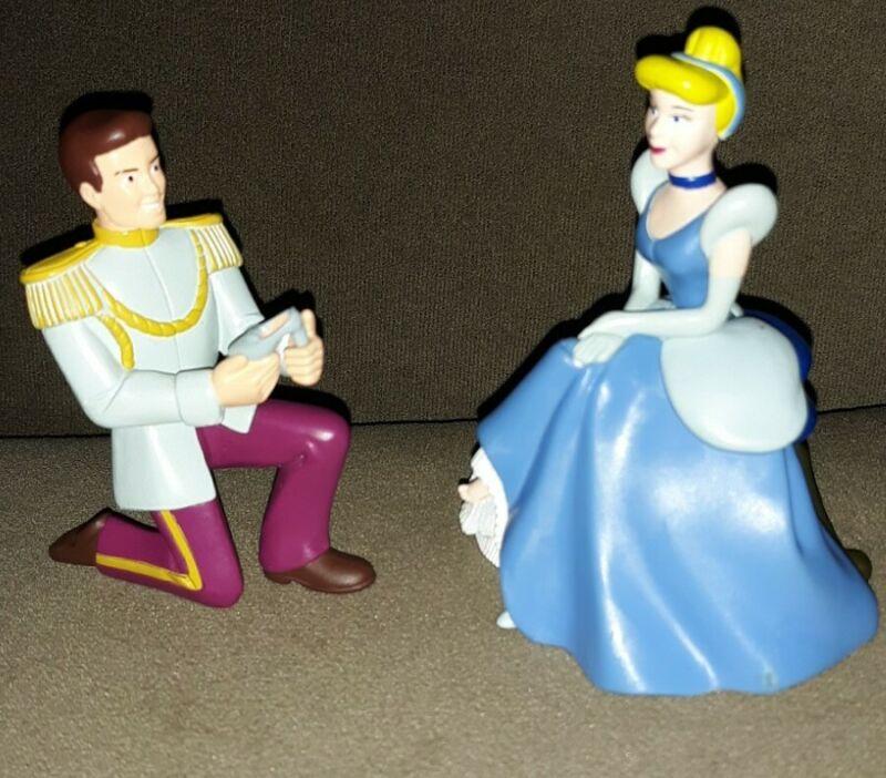 DecoPac Disney Cinderella & Prince Charming Cake Topper Figures