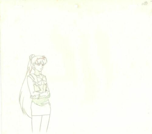 Anime Genga not Cel Sailor Moon 2 pages #992