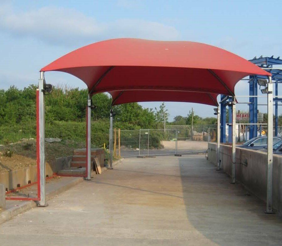 Canopy Car Wash : Car wash canopy set double carapax in guildford