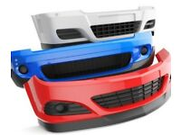 Car used front and rear bumpers