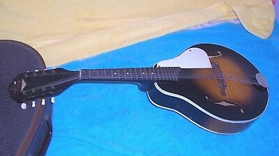 1950's Vintage Kay Mandolin with Kluson tuners in used condition model 460  P4