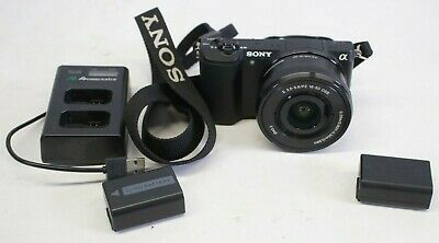 Sony Alpha 5100 A5100 24.3 MP Mirrorless Digital Camera W/ 16-50 Lens - Black - $389.00