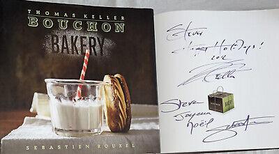 SIGNED Bouchon Bakery Cookbook Thomas  Keller Sebastien Rouxel 1st ED HC Book