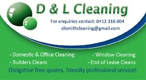 D & L Cleaning Services Mount Barker Mount Barker Area Preview