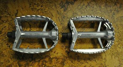 """Rat Trap Pédales Chrome 9//16/"""" trois pièces manivelles-Old school BMX Raleigh Touring"""