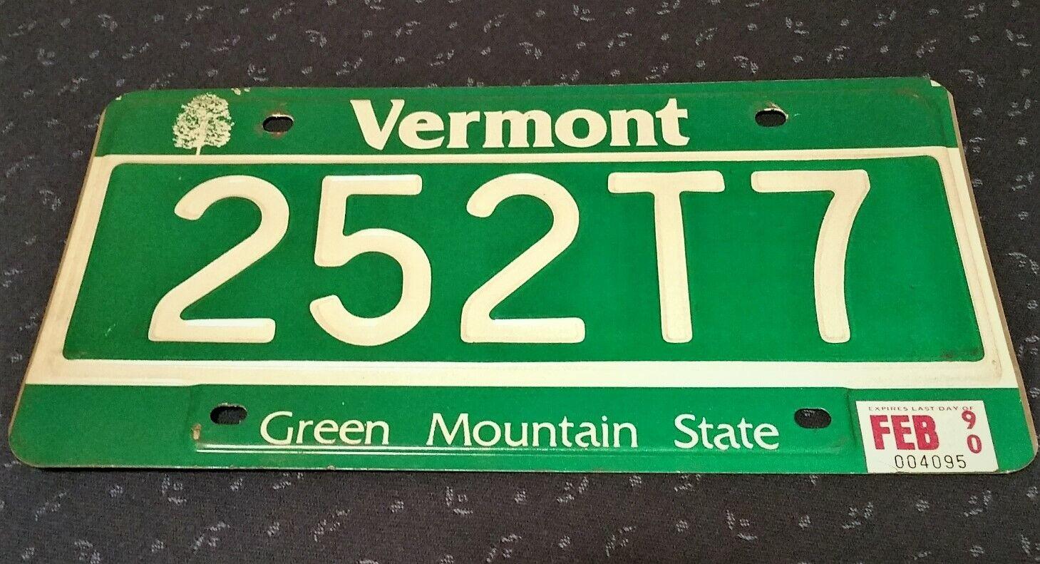 VERMONT USA Nummernschild Kennzeichen License Plate Schild