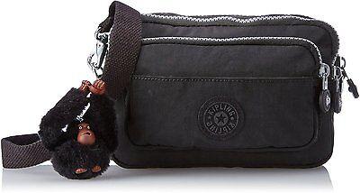 Multiple Waistbag Convertible to Shoulder Bag, Kipling, Black