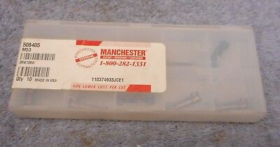 Manchester  Carbide Inserts  508405  Sealed Pack Of 10  Grade M53