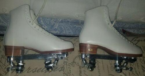 Riedell Silver Star Roller Skates 355 Snyder Advantage Plates