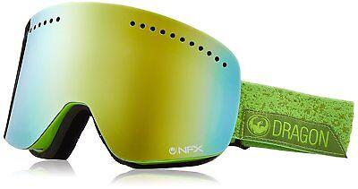 c3ad3bd42fad Dragon NFX Goggles Ski snowboard stone green + bonus lens NEW