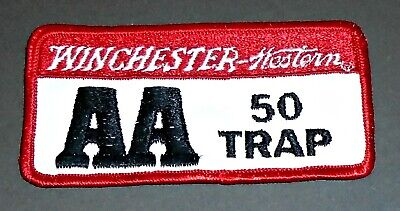 Vintage Mint Unused Winchester Guns Trap Shooting Rifle Jacket Patch