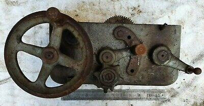 13 Inch South Bend Lathe Apron Gear Box May Fit 16 14  Southbend