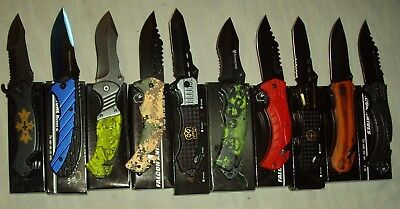 Wholesale lot - 10 pcs Spring Assist Knife (lot 875)