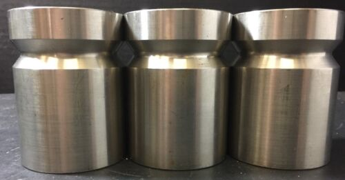 Vintage Set of (3) Stainless Steel Calibration 2000 gram Weights