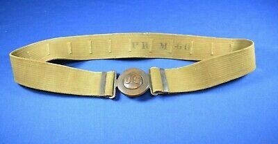 Original WWI US Army M1910 Officer Garrison Belt by MILLS PRM-60