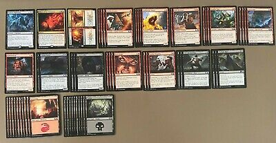 Magic: The Gathering - Living in the Dark Deck w/ Hunted Nightmare/ Allure of ++