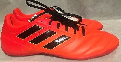 the best attitude 7d568 7b97b Adidas Ace 17.4 Indoor Soccer Shoes Men Size 9.5 U.S