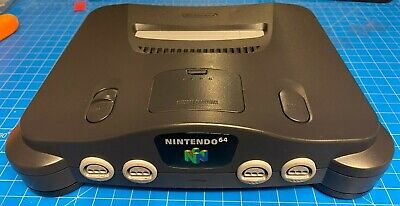 Nintendo 64 CONSOLE ONLY, No Controllers or Cables, Clean, Tested, Working!