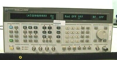 Hp 8664a Synthesized Signal Generator 0.1 - 3000 Mhz Opt 004 008
