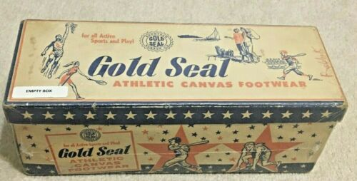 Vintage Goodyear Rubber Co Gym Shoes Box 1950