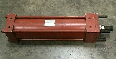 Miller Pneumatic Cylinder Model No. 50319 Cyl.h.53.0400 1400 017