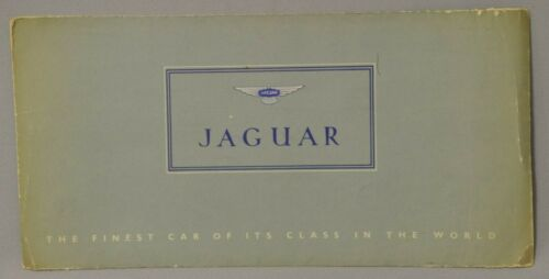 Jaguar Mark 8 MKVIII Brochure with rare protective sleeve