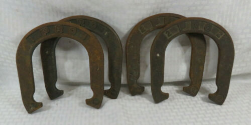 VTG Horseshoes Pro Set of 4 Taiwan Lawn Game July 4th