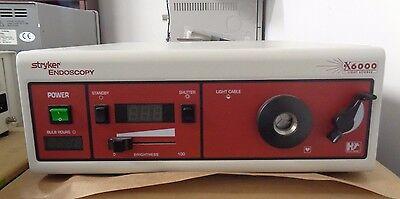 Stryker Endoscopy X6000 Light Source 220-185-000 Bulb Sn01d029984-01d030134
