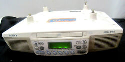 Sony ICF-CD533 Kitchen Clock Radio with CD Player - Tested Works