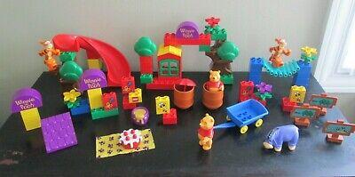 Vintage Lego Duplo Lot - Winnie the Pooh - 2985 2987 2990 - Tigger Eeyore