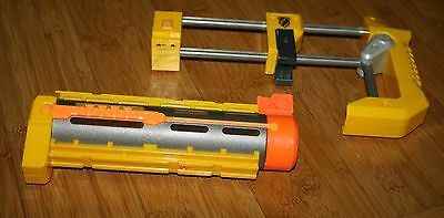 Nerf Yellow & Orange Front Barrel & Shoulder Stock Extension Lot Recon Stryfe