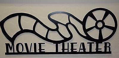 Metal Wall Art Home Decor Movie Theater Reel 34