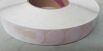 1 Round White Wafer Tab Wafer Seal 1 Roll W8